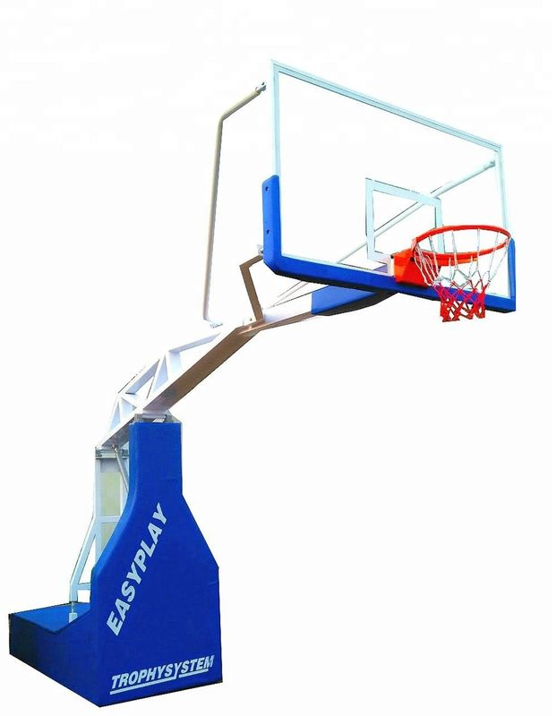 Heavy Duty Basketball Hoop Stand 2.4*1.2*0.45*0.38M Size For High Grade Competitions